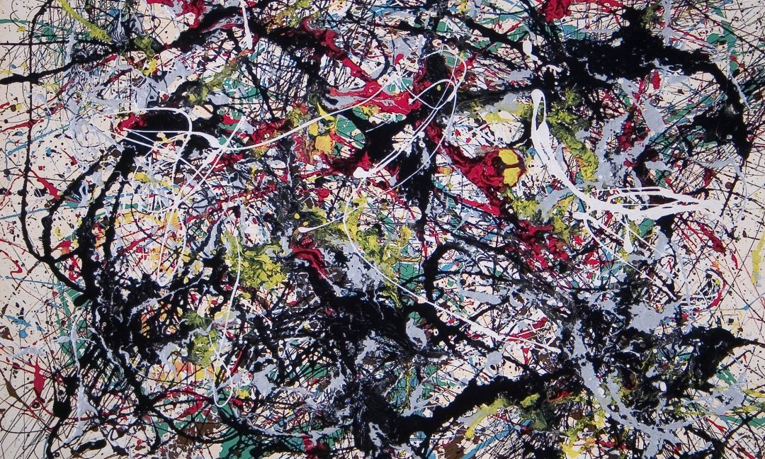 Pollock, Jackson (1912-1956): Number 34, 1949, 1949.. Utica (NY), Munson-Williams-Proctor Arts Institute*** Permission for usage must be provided in writing from Scala. May have restrictions - please contact Scala for details. ***