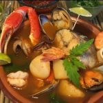 Caldo de mariscos y rock and roll