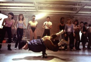 BREAKIN', Michael Chambers, 1984. (c) Cannon Pictures.